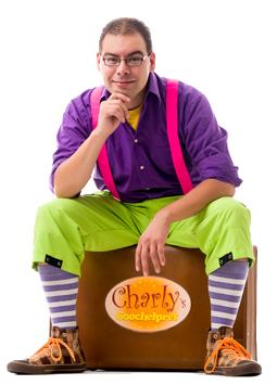 Kindergoochelaar Charly Crama - Kinderfeestje
