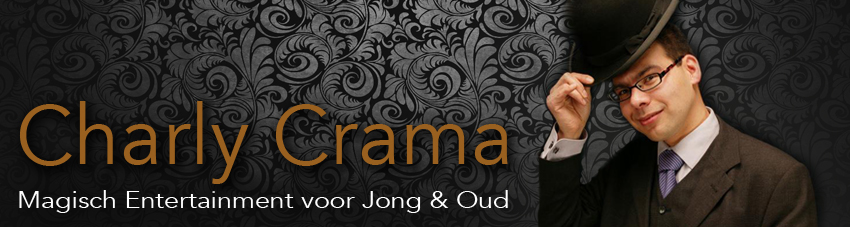 Goochelaar Charly Crama - Magisch Entertainment