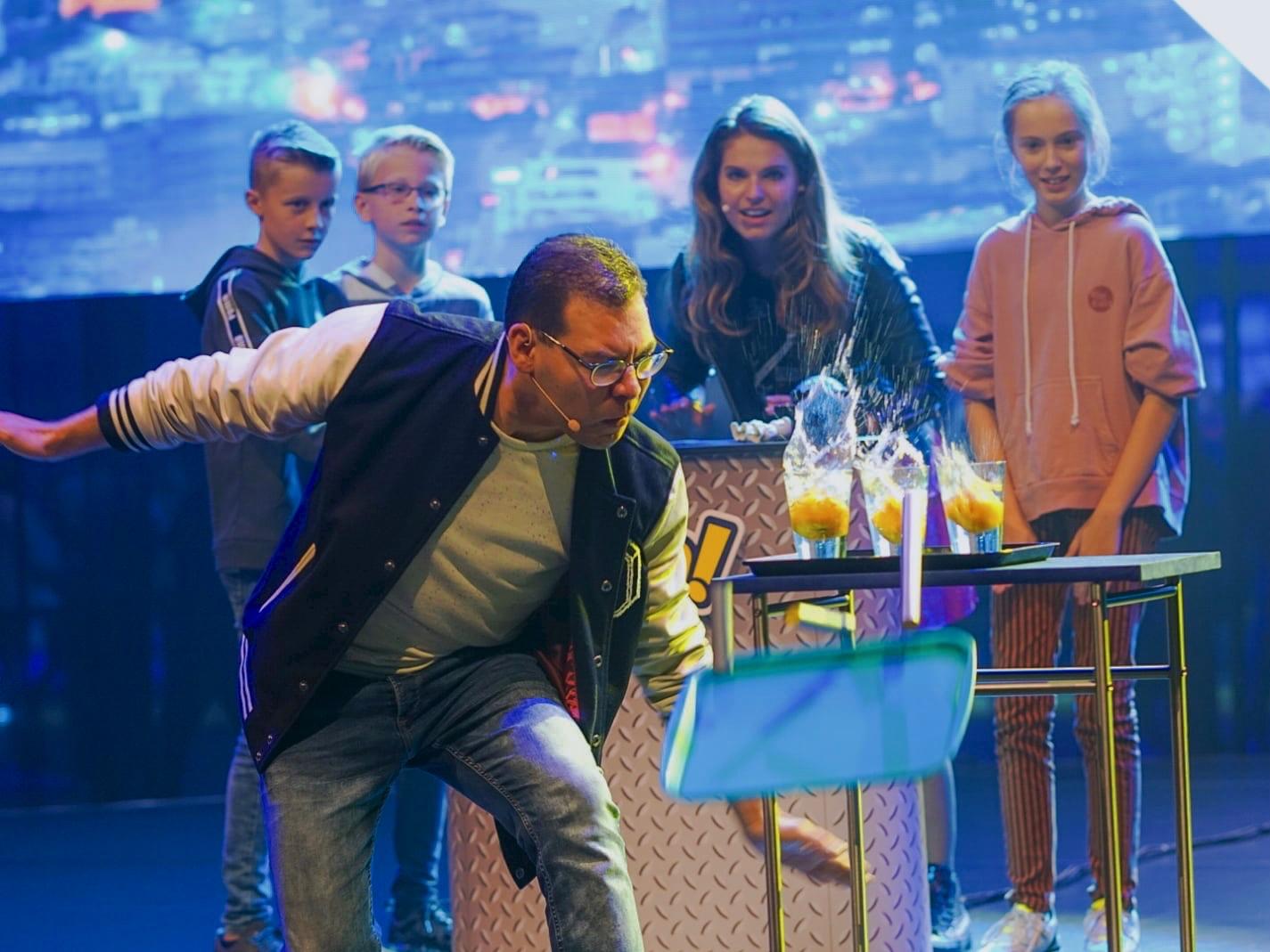 Kindershow Eureka Show Jamie Charly