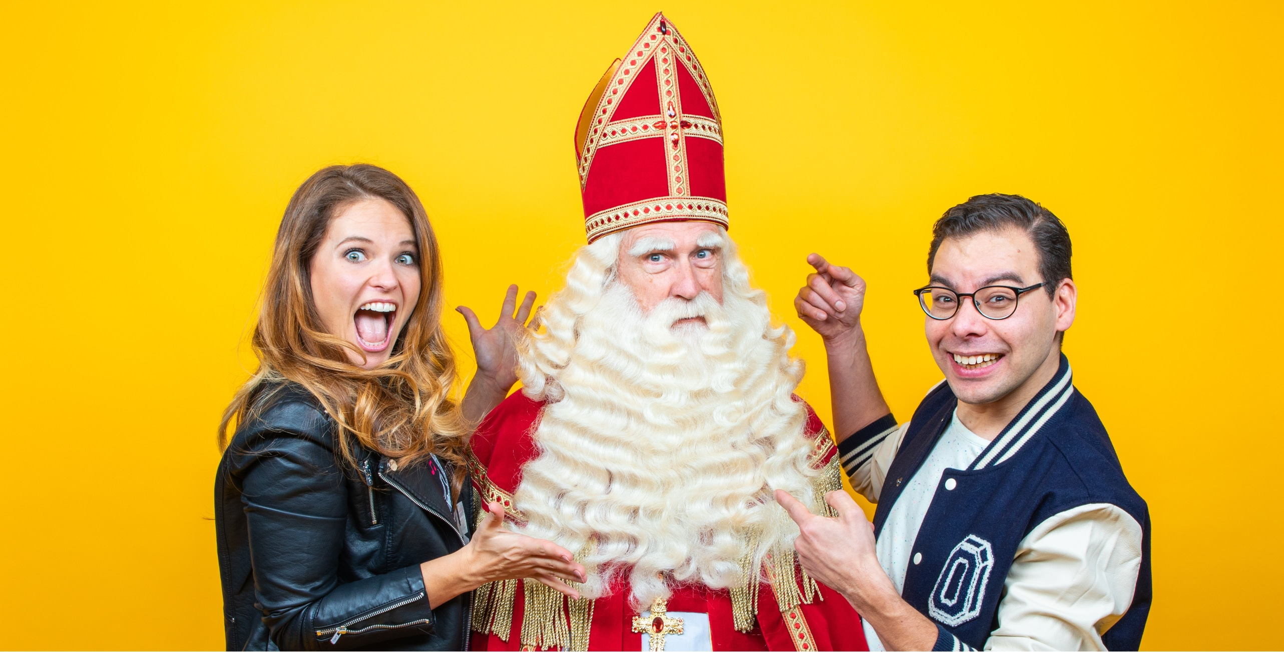 Sinterklaasshow Jamie Charly Sint Surprise Kindershow
