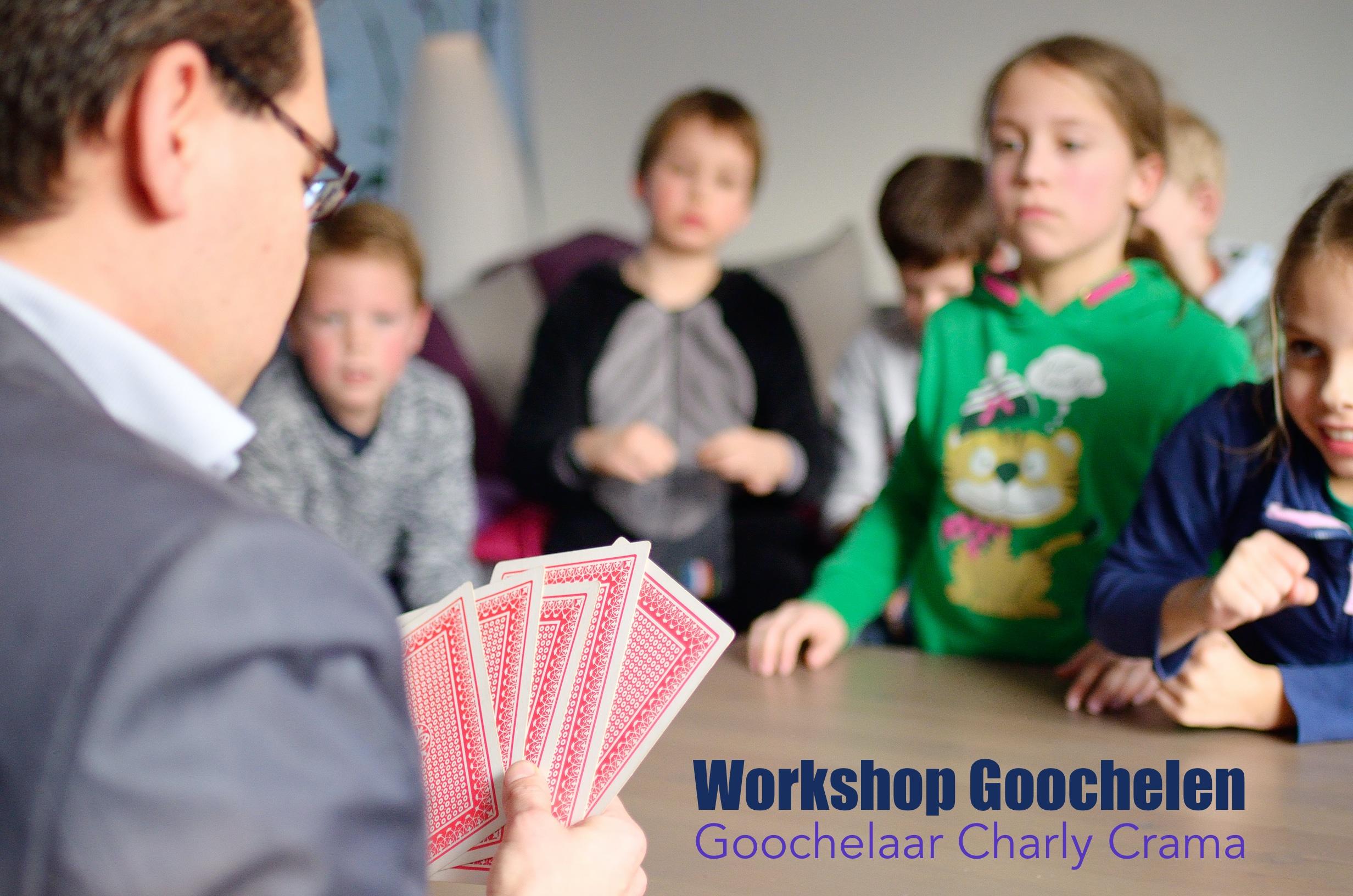 Workshop Goochelen Goochelaar Charly Crama_1